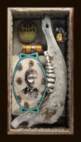 Mixed Media Assemblage 73 by GregPDX