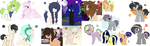 Leftover Mlp Adopts [ OPEN ] by SilverKatu