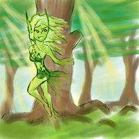 Dryad speed art by The-Oyster-Idol