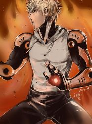 Genos by Shiro-Naruto
