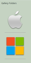 My New Gallery Folder Icons by theIntensePlayer