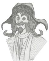 Bofur sketch by Kriegswaffle