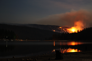 Willow Fire @ Bass Lake by KoalaDandy