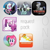 Icon Request Pack #1 by Elalition