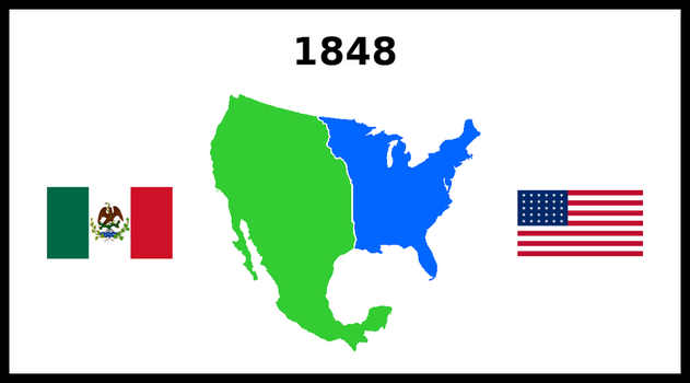If Mexico had won the Mexican-American war by matritum
