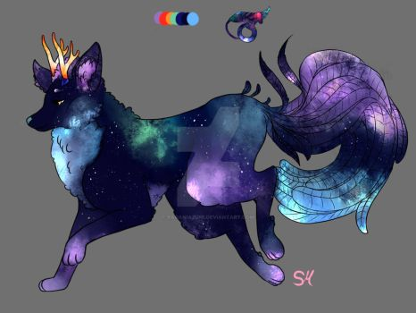 Space-caniquill open adopt! -closed with winner- by raganiazumi