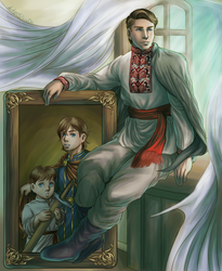 [APH OCs] Recollection of a Principality by SlavaDe