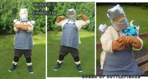Tinker Knight Cosplay by KingRebecca