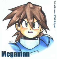 Megaman by Rolly-Chan