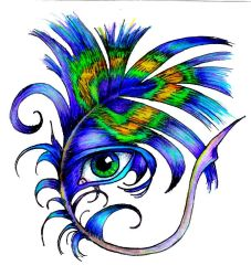 Feather by EyeArt4U