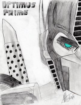 Optimus Prime TFP - sketch by MNS-Prime-21