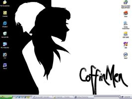 Coffin Men Desktop by ChocoboGoddess