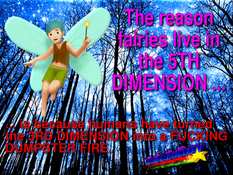 Why Fairies Are 5D by paradigm-shifting