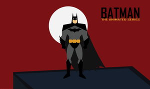 Batman The Animated Series Wallpaper by WolfTron