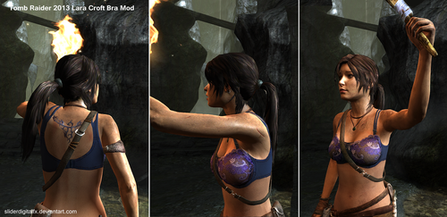 Tomb Raider 2013 Lara Croft Bra Mod by SliderDigitalFX