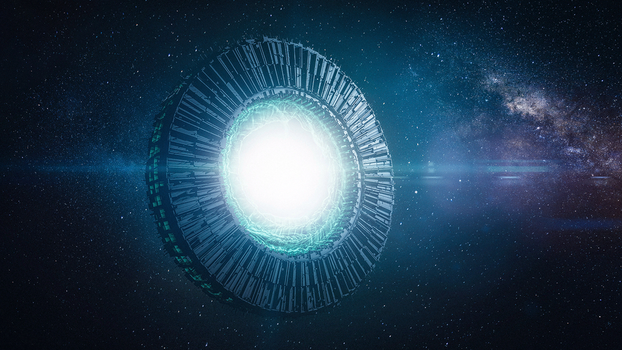 [C4D] - Space Portal by PSK-Photo