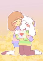 Hugs and never let go by kumiko19