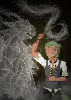 [UP] ~ Hufflepuff Patronus by FetchTheTable