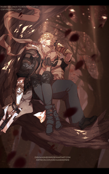 Commission : Forest rest by dishwasher1910