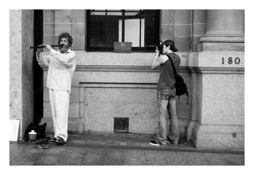 flautist and photographer by Zenhead