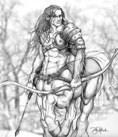 Centaur By Bill Richards by B-Richards