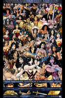 Wonder Woman through out time by REDSkill3t