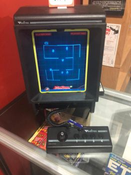 Vectrex video game system  by MacThePlaneh