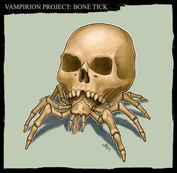 Bone Tick by Luneder