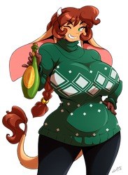 sweater Mora 2015 by ChaloDillo
