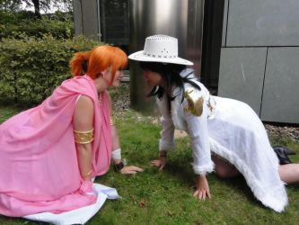 Nami and Robin Alabasta =D by Lucy-chan90