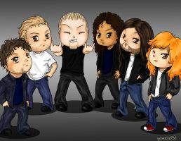 Metallica Chibis by SavanasArt
