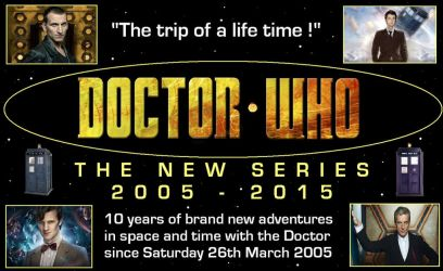 Doctor Who - The New Series - 2005 - 2015 by DoctorWhoOne