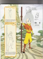 How TO Draw Aang part 2 by RikuxSorafan