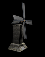 Crooked windmill by Datasmurf