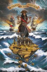 Pirate of the Caribbean Sea by KejaBlank