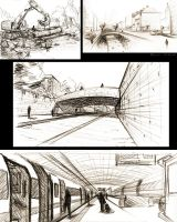 landscape/scenery doodles by LoccoRico