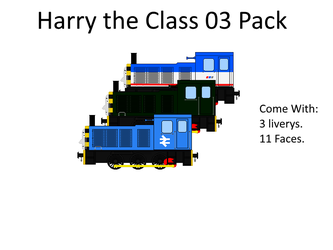 Harry The Class 03 pack by James4455