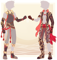 :Comm: outfits for Kyan by MMtheMayo
