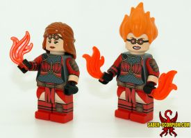 Chandra Nalaar - Custom LEGO Minifig by Saber-Scorpion
