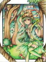The Forest Girl by Tajii-chan
