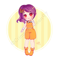 [AT] Jacky - Melon Chibi by CrimsonQueen97