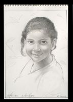 Young Girl, Munich 2004 by scratchmark