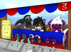 The Tickle Booth by Seraphon