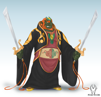 Smashified: Toon Ganondorf by Atlas-Divide