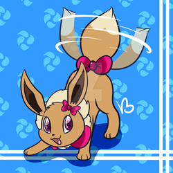 Gracie the Eevee by Banana-Spice