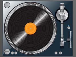 Free High quality vector turntable by chris3290