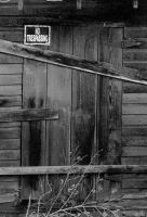 No trespassing...ever... by thewolfcreek