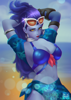 Widowmaker summer by SirSwad