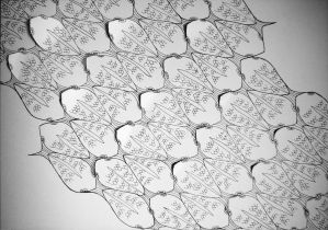 Cut-out Tesselation