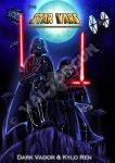 StarWars-FANART Darth Vader and Kylo Ren by Valtorgun-le-Grand